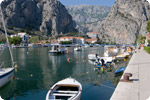 Omis in Kroatien